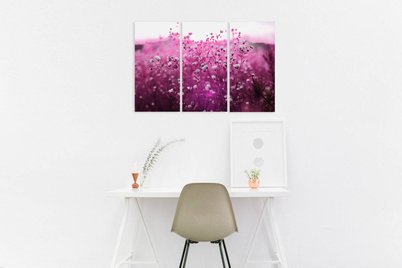Canvas Print Flowers