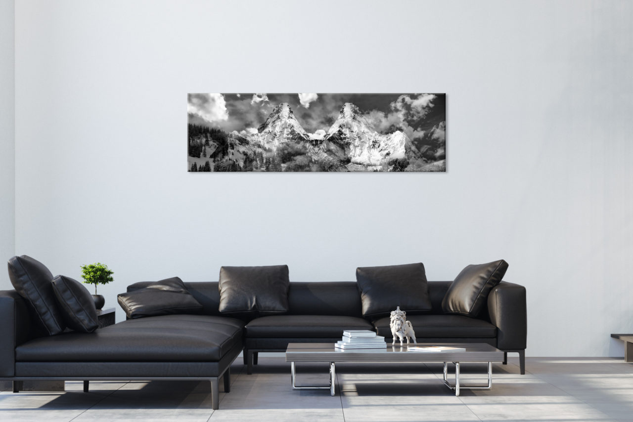 Canvas Print Mountains